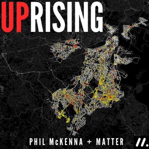 Uprising audiobook cover art