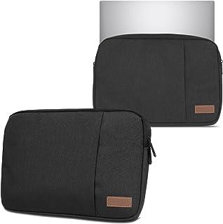Hoes notebooktas compatibel voor Lenovo Yoga 9i 15.6' in zwart of grijs laptop beschermhoes case cover etui, kleur: zwart