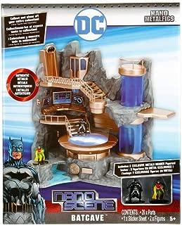 DC Comics Nano Metalfigs Nanoscene Batcave Collectors Enviroment (23Piece)