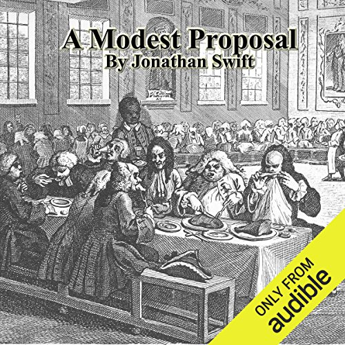 A Modest Proposal audiobook cover art