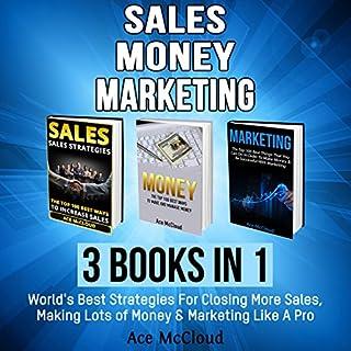 Sales: Money: Marketing: 3 Books in 1 audiobook cover art