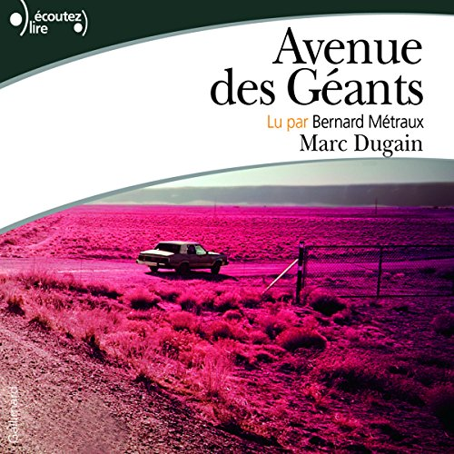 Avenue des géants audiobook cover art