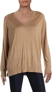 LAUREN RALPH LAUREN Womens Zelma Stretch Long Sleeves Pullover Sweater