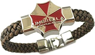 Outlander Resident Evil Umbrella Corporation Game PC Console Braided Bracelet with Gift Box from Gear