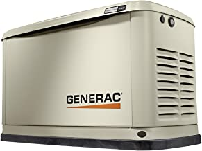 Generac 7031 7031-Guardian Series 11/10kW Air-Cooled, Alum Enclosure Home Standby Generator, Aluminum