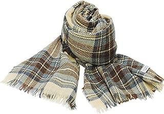 [ロキャロン] Lochcarron of scotland 英国スコットランド製 ストール カシミヤ混 薄手 大判ストール タータンチェック