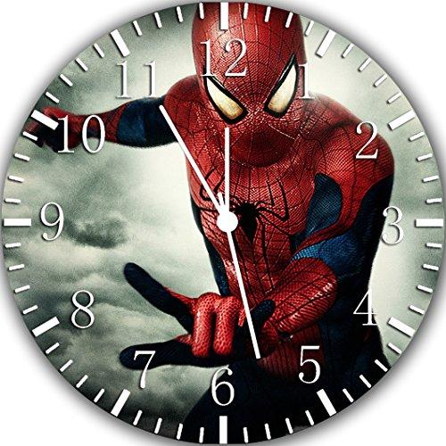Ikea Spiderman Wanduhr, 25,4 cm, tolles Geschenk und Zimmerdekoration, X52