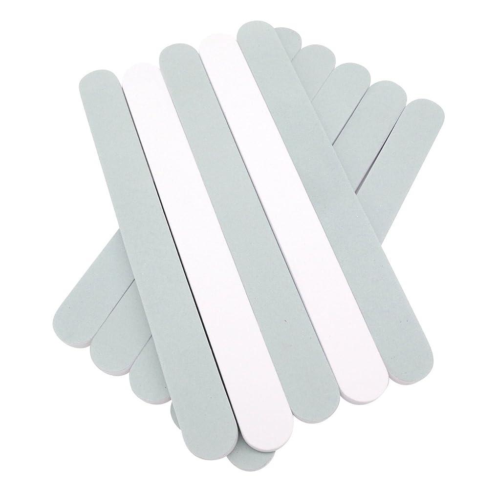 最大化する侮辱通訳(SOWAKA)2way ネイル シャイナー 10本 セット 爪磨き ツヤ出し (10本セット)
