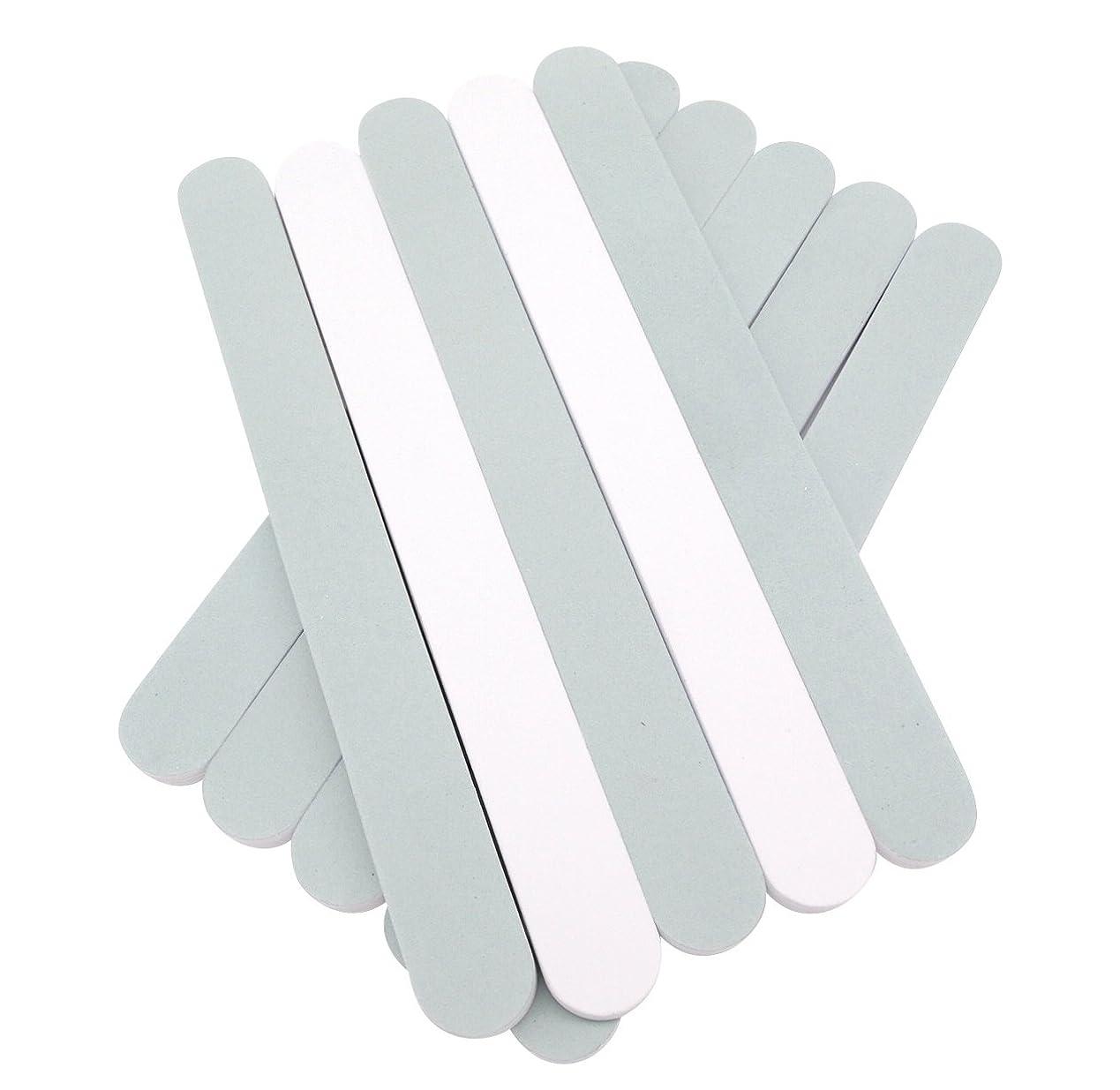 食べる元気な脚本(SOWAKA)2way ネイル シャイナー 10本 セット 爪磨き ツヤ出し (10本セット)