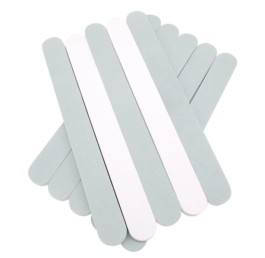 忠実なパンツユニークな(SOWAKA)2way ネイル シャイナー 10本 セット 爪磨き ツヤ出し (10本セット)