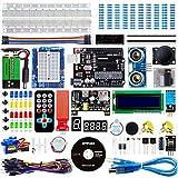 Smraza Advanced Starter Kit con Breadboard, Modulo Sensore Livello Acqua Compatibile per Arduino R3 Mega2560 Nano con Tutorial