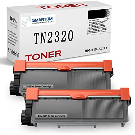 SMARTOMI Compatible Replacement for TN2320 TN2310 Toner Cartridges for Brother MFC-L2700DN MFC-L2700DW MFC-L2720DW MFC-L2740DW DCP-L2500D DCP-L2520DW DCP-L2540DN DCP-L2560DW HL-L2300D HL-L2360DN