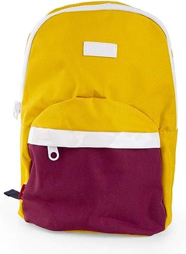 Kickers P18E0020_01_3760240202509, Unisex-Kinder Kinderrucksack Gelb gelb PetitEU