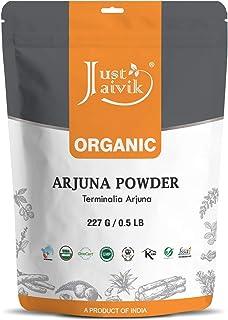 Sponsored Ad - 100% Organic Arjuna Bark Powder (Terminalia Arjuna) 1/2 LB, 08 oz, 227g USDA Certified Organic- Biodegradab...