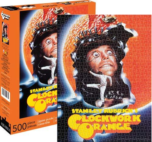 signs-unique Aquarius a Clockwork Orange una Hoja Puzle Rompecabezas (500 Piezas)