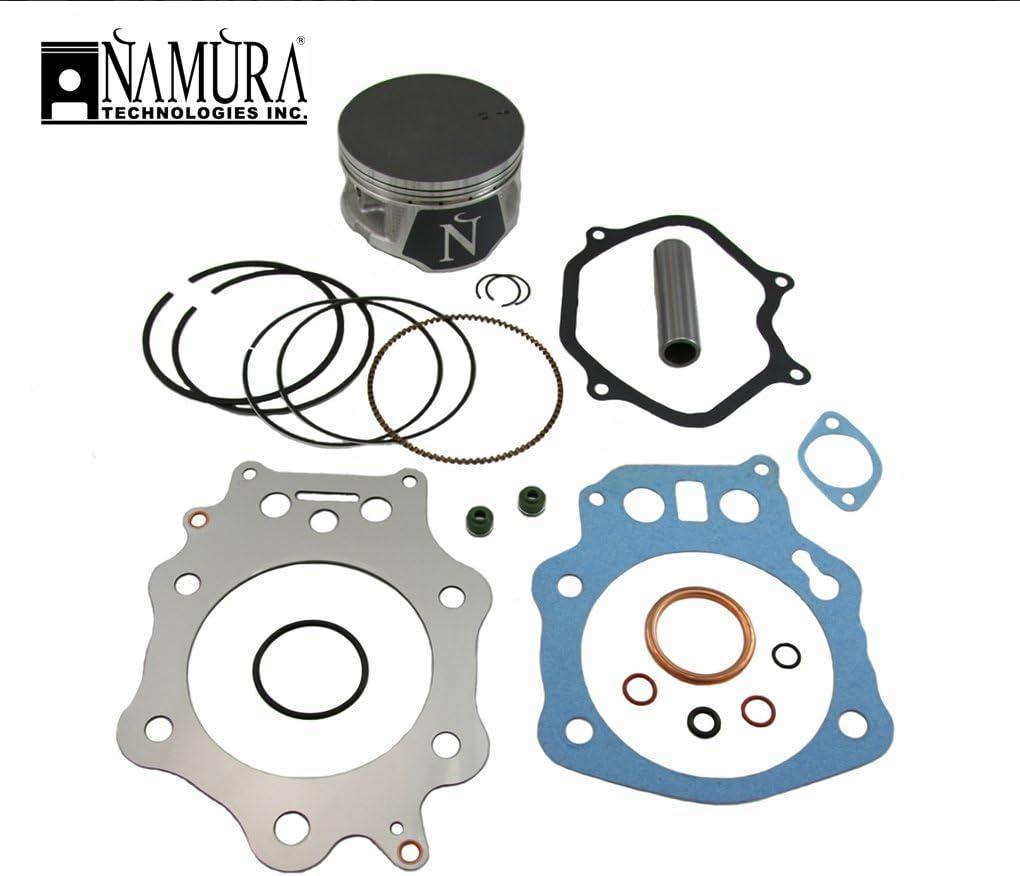 mm Bore Size Namura Dirt Bike Top End Engine Rebuild Kit Compatible with Suzuki RM65 2003-2005 Stock : 44.45