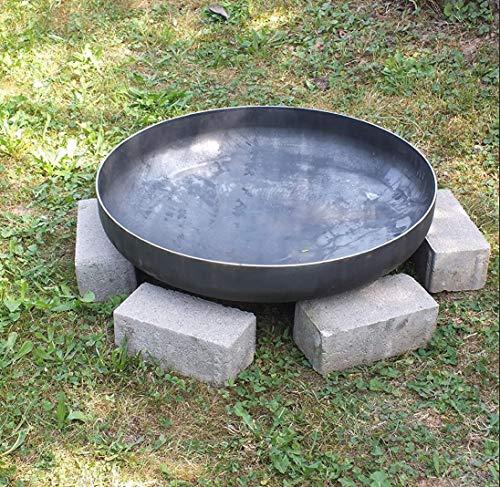 Klöpperboden Czaja Stanzteile Feuerschale Stahl, Feurstelle für Draußen, Feuerkorb