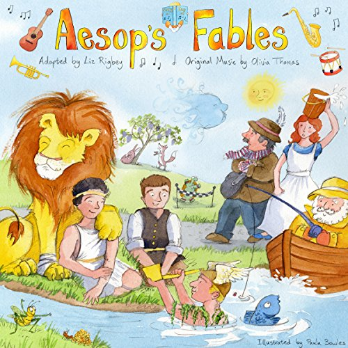 Aesop's Fables                   By:                                                                                                                                 Liz Rigbey                               Narrated by:                                                                                                                                 William Baggs,                                                                                        Alison Child,                                                                                        Christine English,                   and others                 Length: 1 hr and 4 mins     6 ratings     Overall 4.0