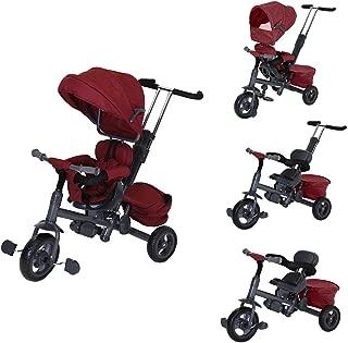 Charles Bentley Para Niños Triciclo 3 en 1 Estrella en Rojo