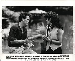 Historic Images - 1993 Press Photo Matt Dillon and Annabella Sciorra-Mr. Wonderful