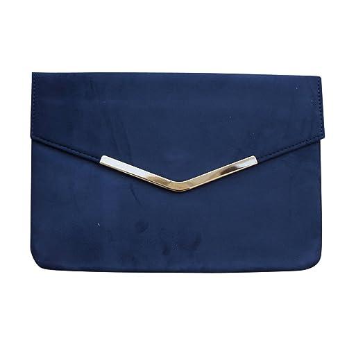 b0ad24b6b3e Chicastic Envelope Foldover Casual Evening Clutch Bag