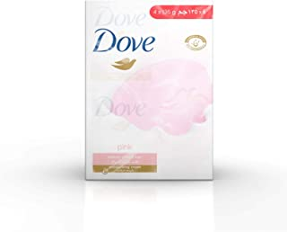 Dove Beauty Cream Bar Pink, 4 x 135g