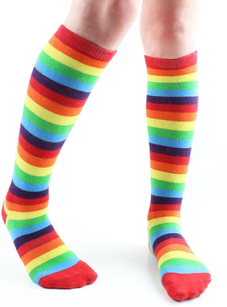 Kid/'s Rainbow socks