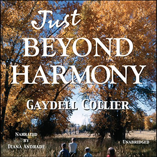 Just Beyond Harmony audiobook cover art