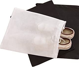 Bullidea Shoe Storage Bag Holder Drawstring Pouch Dustproof Organizer for Travel Camping Carrying, Pack of 6