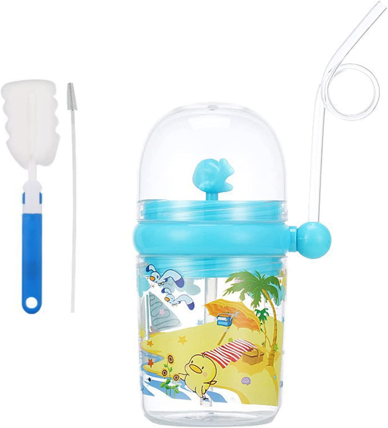 yanbirdfx 250ml Cartoon Whale Spray Kids Fixed price for sale Cup Feeding Purchase Drink Water