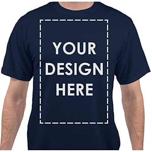 26bb4d6b5281 Add Your Own Custom Text Name Personalized Message or Image Unisex T-Shirt