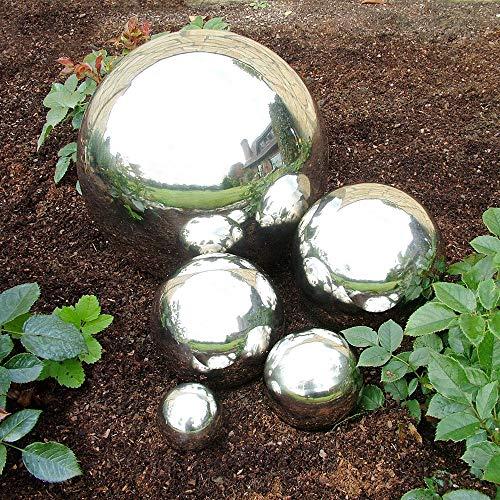 CB Home & Style Edelstahlkugel Deko Kugel Rosenkugel Garten (6 cm)