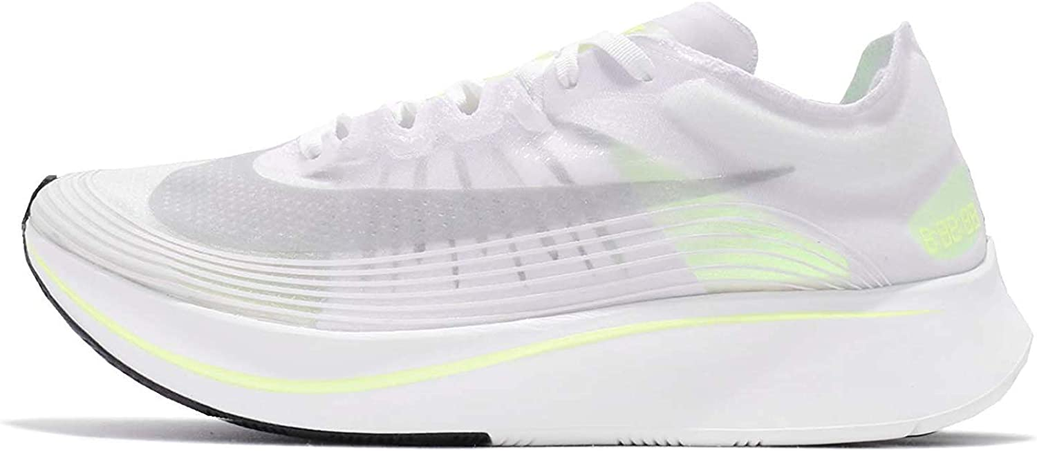 Nike Men's Zoom Fly SP Running shoes-White Volt Glow-8