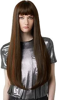 Best dark brown wig bangs Reviews