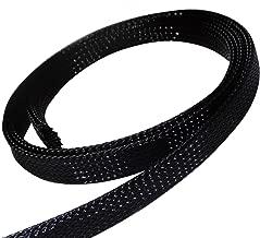 AERZETIX 4.5m mètres 10mm 9-15 gaine tressée thermorétractable manchon de câble fil électrique