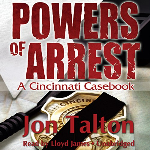Powers of Arrest audiobook cover art