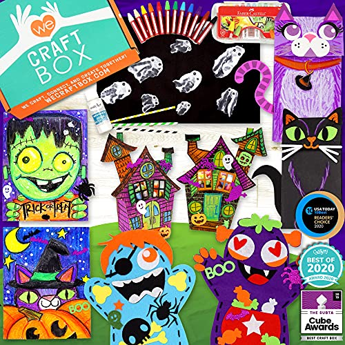 craft subscription boxes WE CRAFT BOX Kids Arts and Craft Subscription Box Age 3 4 5 6 7 8 9