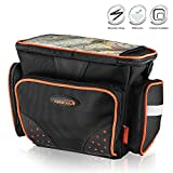 Ibera Bike Handlebar Bag for Camera Equipment, Clip-on Quick Release Bicycle Bag with Rain Cover and Map Sleeve, Medium (IB-HB4)