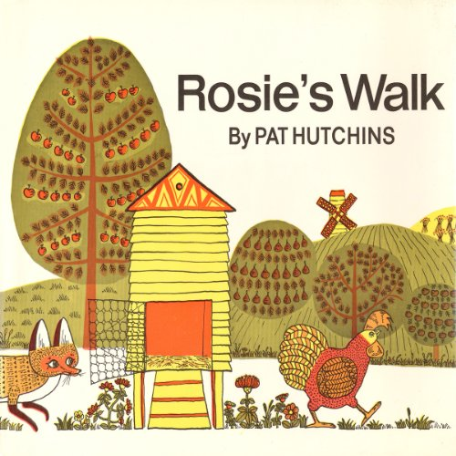 Rosie's Walk audiobook cover art