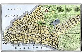 Media Storehouse 12x8 Print of New York City map, 1767 (5882531)
