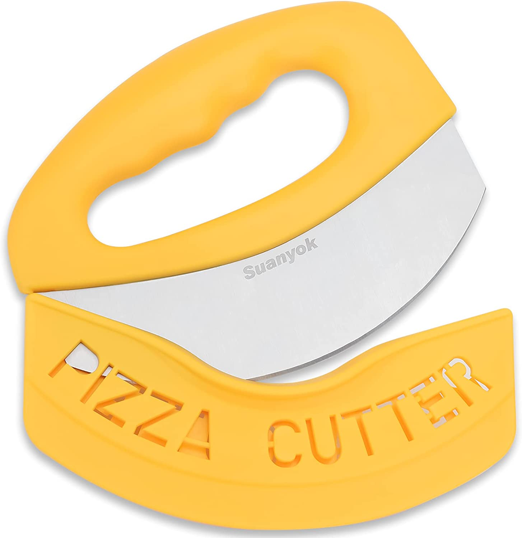 Suanyok Premium Pizza Cutter High order Food Sharp Chopper-Super Blade Stai New product