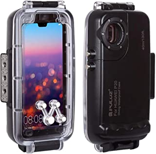 $44 » RONSHIN PULUZ 40m/130ft Waterproof Case Diving Housing Underwater Cover Case for Samsung Galaxy S9 S9 Plus Galaxy S9 Black Electronic Accessories