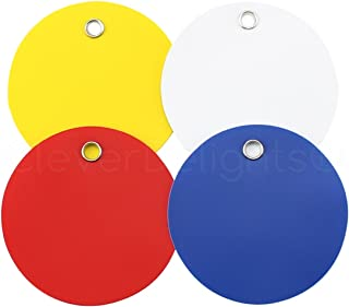 100 Pack - CleverDelights Plastic Tags - 2