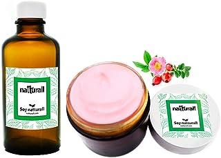 Crema y Aceite de ROSA MOSQUETA 100% Puro Organico.
