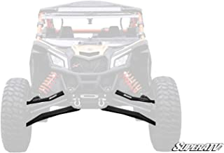 SuperATV Heavy Duty High Clearance Boxed Front A-Arms for 72
