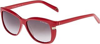 U.S. Polo Assn. Women's Square Sunglasses, 751 RED