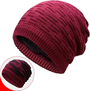 Winter Warm Knit Hat Collar Scarf Dual Double Sided Use Fashion Wild Beanie