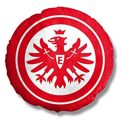 Eintracht Frankfurt Nicki 3D Kissen (rot/weiß, one Size)