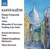 Concerto pour Piano N 3 en Mi Bemol Majeur 29/Rhapsodie Dauvergne 73/Africa 89/Caprice Valse Wedding Cake OP 76