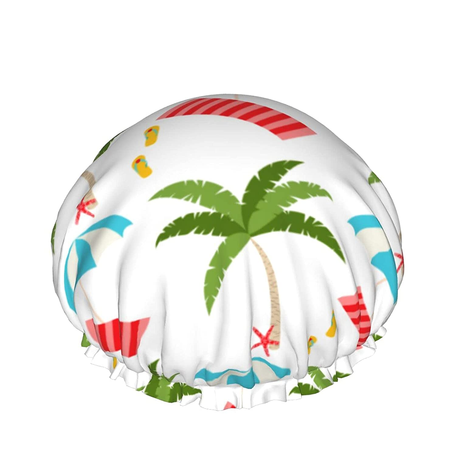 Double Layers Direct store Sale SALE% OFF Shower Cap Summer Beach And Sun towel Umbrella Hol